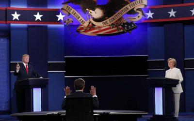 Trump Debates Clinton 3rd Time