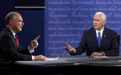 Pence & Kaine Debate