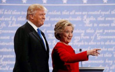 Trump, Clinton Spar in 1st Debate