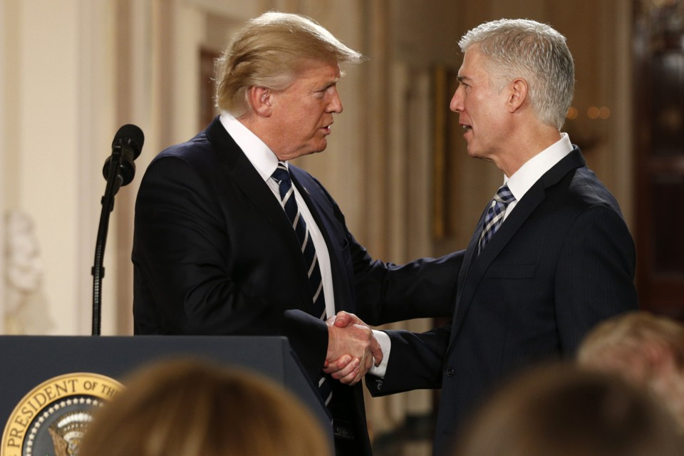 Gorsuch Nominated for Supreme Court