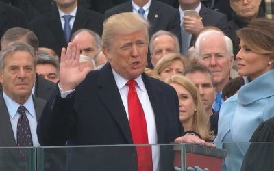 Trump Inaugurated 45th President