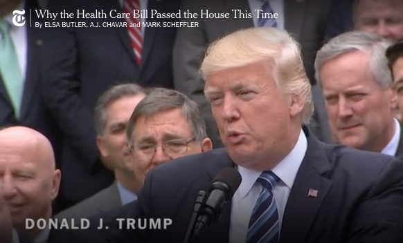 House Passes Replacement for Obamacare